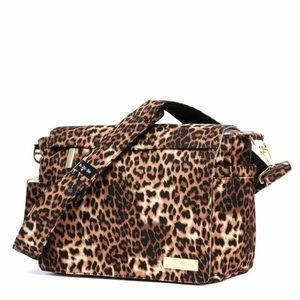 Jujube leopard diaper bag